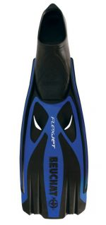Ploutve Beuchat FLEX JET FULL FOOT Blue