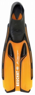 Ploutve Beuchat X-VOYAGER FULL FOOT Orange